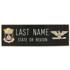 Civil Air Patrol Blazer Name Plate: Colonel