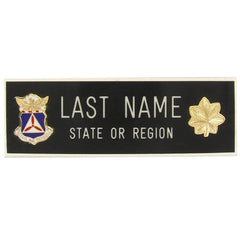 Civil Air Patrol Blazer Name Plate: Major