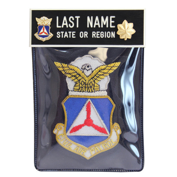 Civil Air Patrol Blazer Name Plate Kit: Major