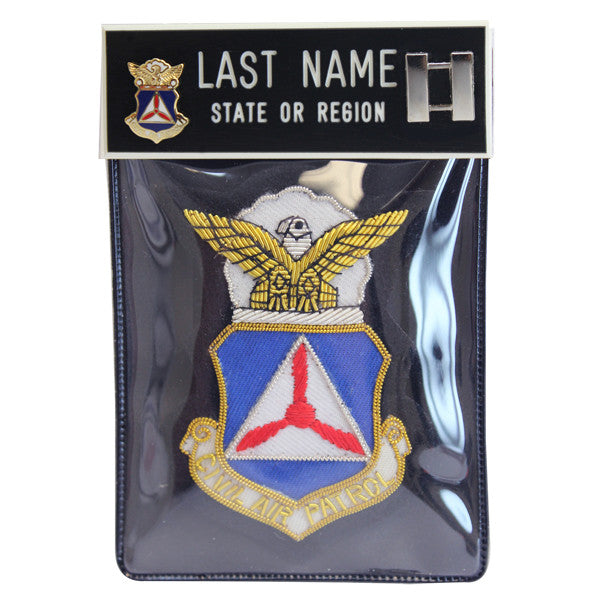 Civil Air Patrol Blazer Name Plate Kit: Captain