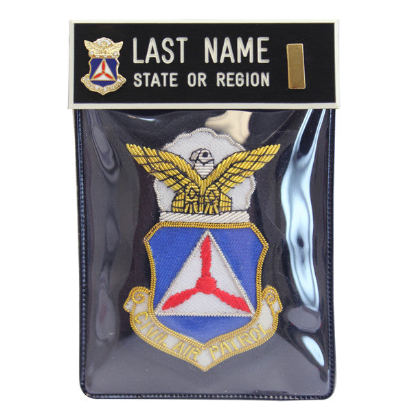 Civil Air Patrol Blazer Name Plate Kit: Second Lieutenant