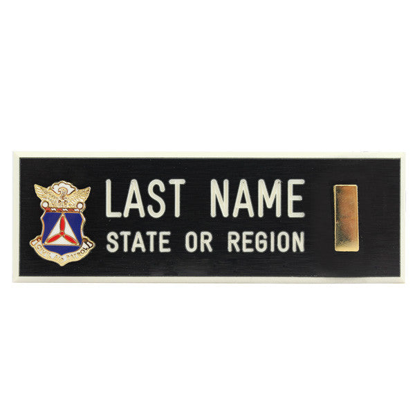 Civil Air Patrol Blazer Name Plate: 2D LT