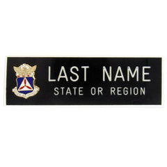 Civil Air Patrol Blazer Name Plate: No Rank