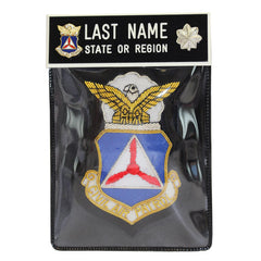 Civil Air Patrol Blazer Name Plate Kit: Lieutenant Colonel