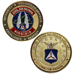 Civil Air Patrol Coin : Virginia Wing Coin