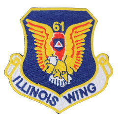 Civil Air Patrol Patch: Illinois Wing w/ HOOK