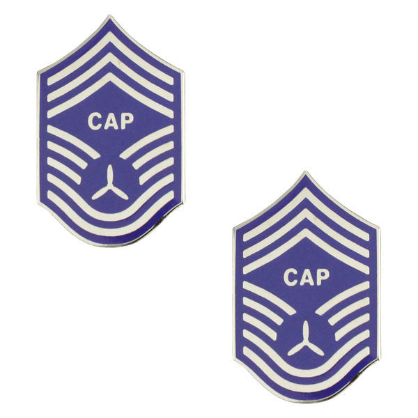 Civil Air Patrol NCO Metal Chevron: Chief Master Sergeant