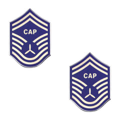Civil Air Patrol NCO Metal Chevron: Senior Master Sergeant