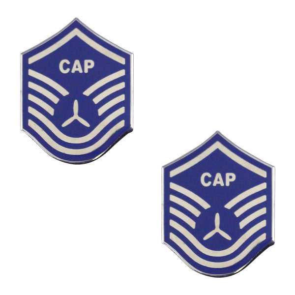 Civil Air Patrol NCO Metal Chevron: Master Sergeant