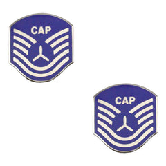 Civil Air Patrol NCO Metal Chevron: Tech Sergeant