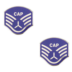 Civil Air Patrol NCO Metal Chevron: Staff Sergeant