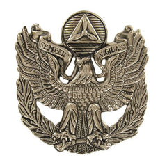 Civil Air Patrol Cap Device: Senior Member Officer Service - female
