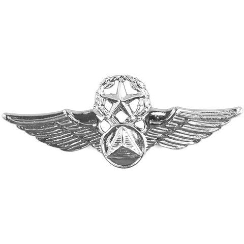 U.S AIR FORCE CHIEF OFFICER AIR CREW WINGS BRIGHT FINISH