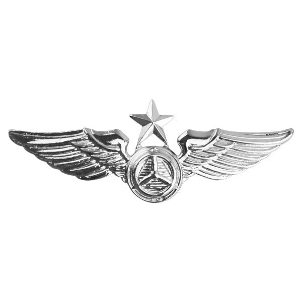 Civil Air Patrol Insignia: Senior Observer Wings - regulation size