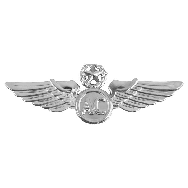 Civil Air Patrol Insignia: Master Aircrew Wings - regulation size