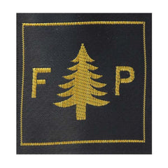 CAP Shoulder Patch: WWII U.S. F & P Letters with Pine Tree 2