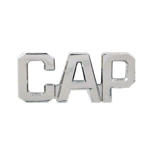 Civil Air Patrol Collar Device: CAP - mirror finish