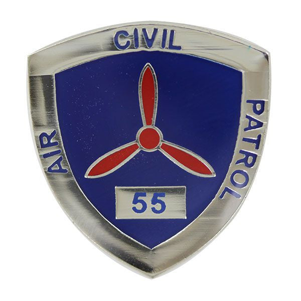 Civil Air Patrol:  Lapel Pin for 55 Years of Service