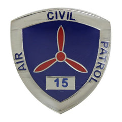 Civil Air Patrol:  Lapel Pin for 15 Years of Service