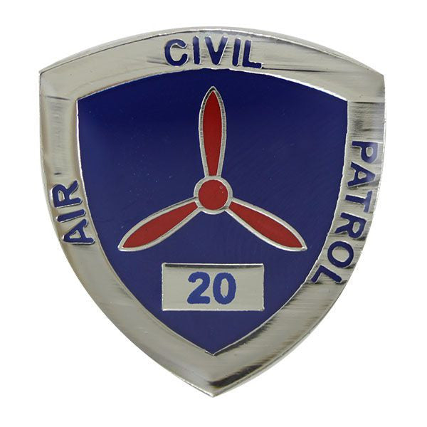 Civil Air Patrol:  Lapel Pin for 20 Years of Service