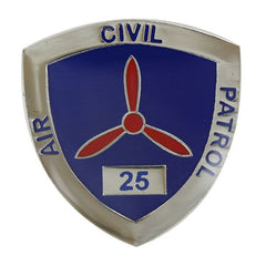 Civil Air Patrol:  Lapel Pin for 25 Years of Service