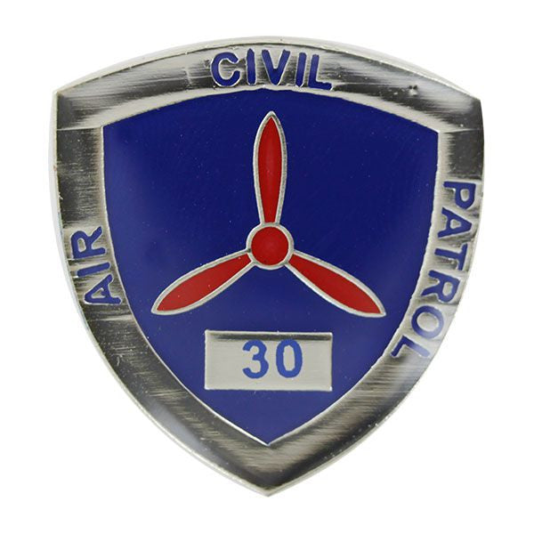 Civil Air Patrol:  Lapel Pin for 30 Years of Service