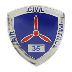 Civil Air Patrol:  Lapel Pin for 35 Years of Service