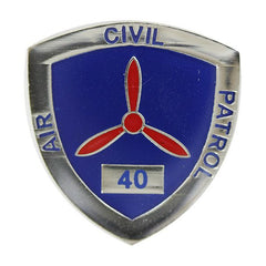 Civil Air Patrol:  Lapel Pin for 40 Years of Service
