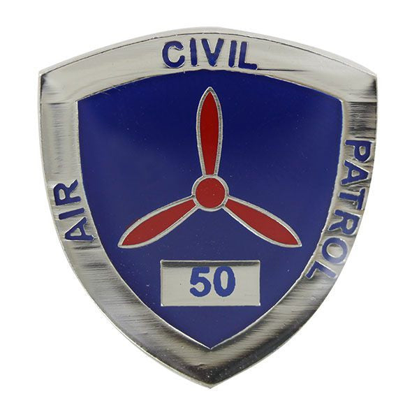 Civil Air Patrol:  Lapel Pin for 50 Years of Service