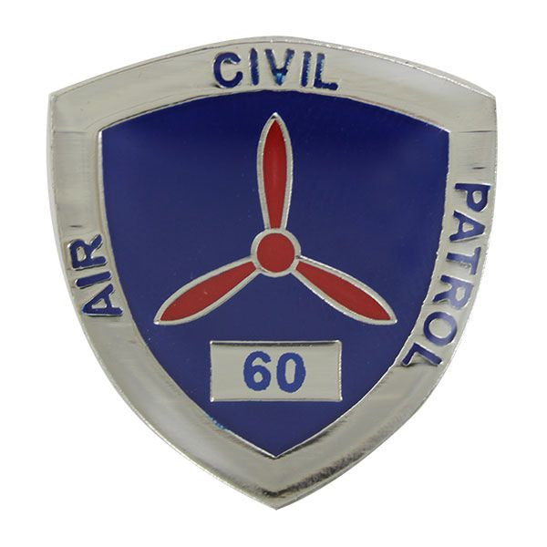 Civil Air Patrol:  Lapel Pin for 60 Years of Service