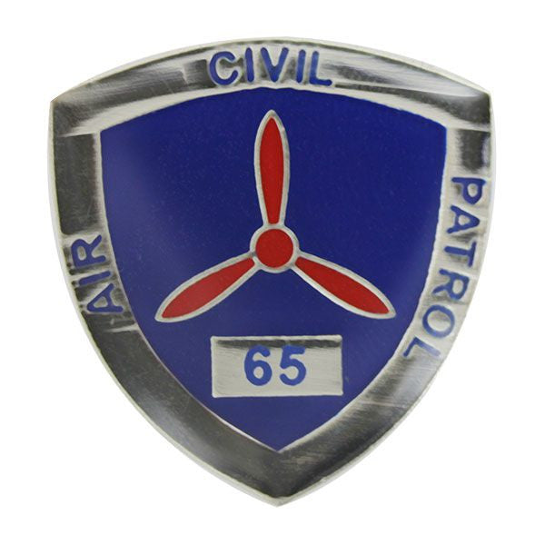 Civil Air Patrol:  Lapel Pin for 65 Years of Service