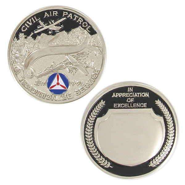 Civil Air Patrol Coin: CAP Appreciation - silver