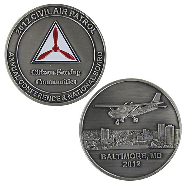 Civil Air Patrol National Board Coin 2012