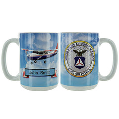 Civil Air Patrol: Personalized Mug w/ CAP Seal
