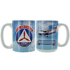 Civil Air Patrol: Personalized Mug w/ CAP Emblem