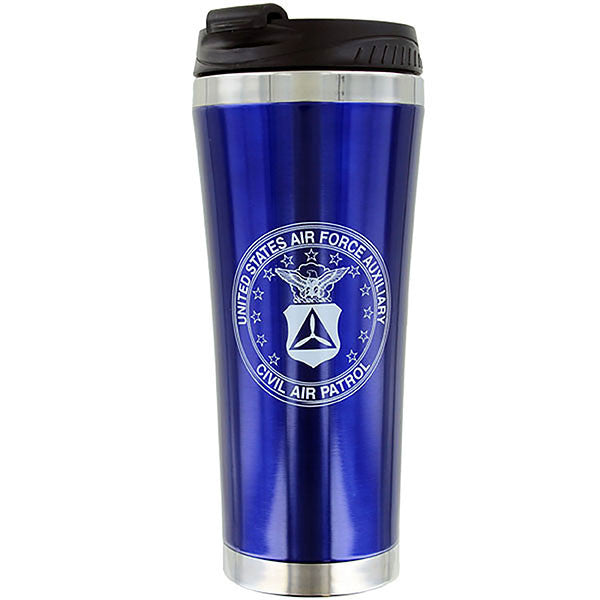 Civil Air Patrol Travel Mug: No Spill - Travel mug