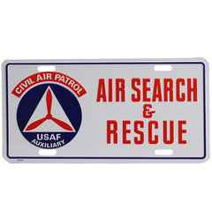 Civil Air Patrol License Plate: Search & Rescue License Plate