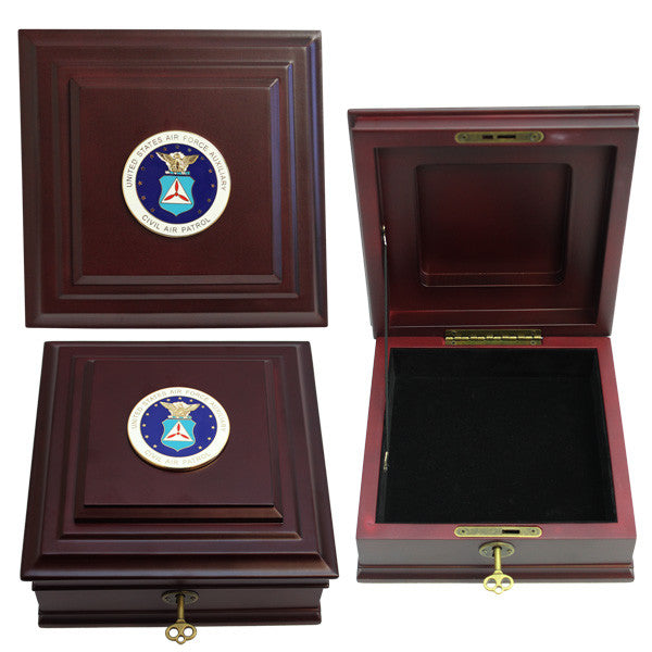 Civil Air Patrol: Keepsake Desktop box with key