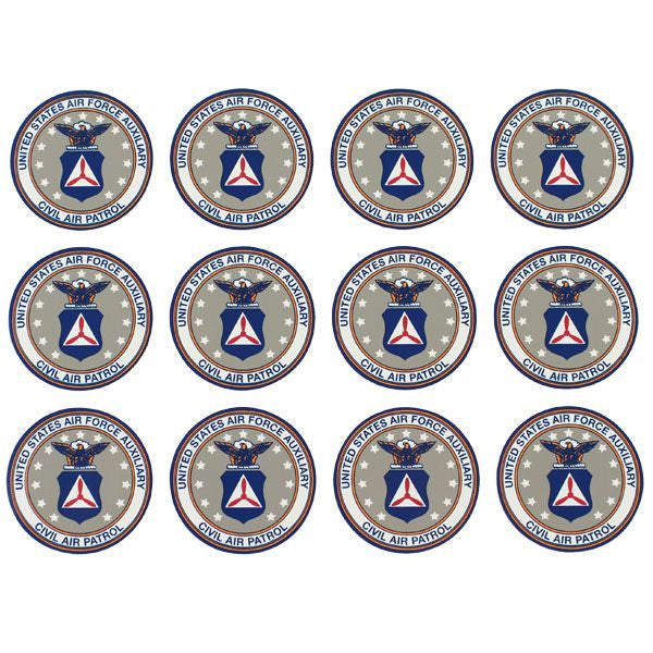 Civil Air Patrol Decal: Seal - 1 1/4