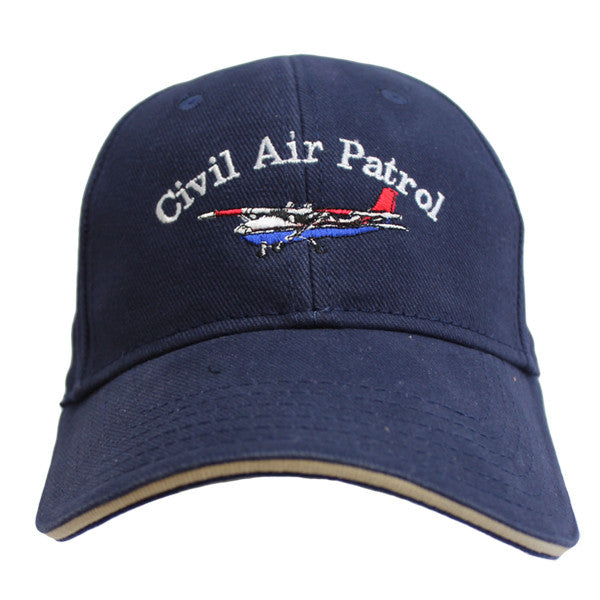 Civil Air Patrol: Ball Cap Navy with Cessna