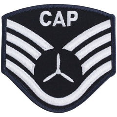 Civil Air Patrol: Senior Member NCO SSGT Embr Chevrons small