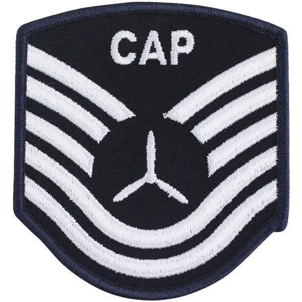 Civil Air Patrol: Senior Member NCO TSGT Embr Chevrons small