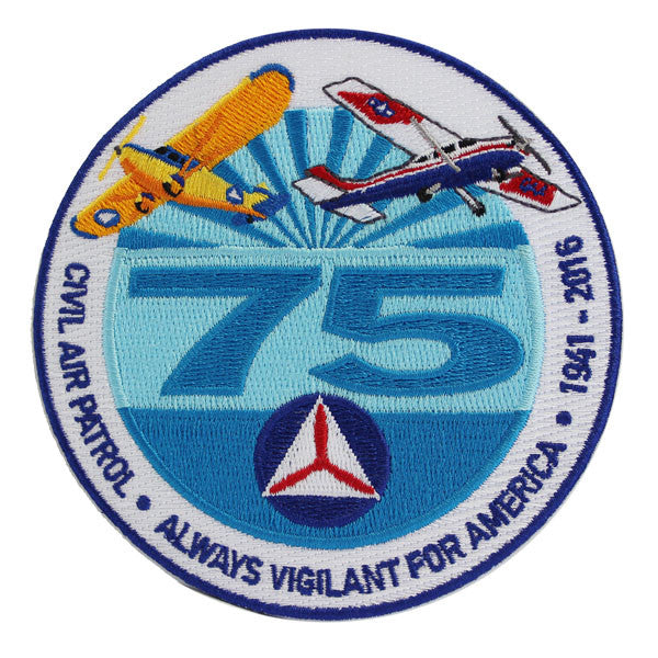 CAP- 75th Anniversary: Patch (round)