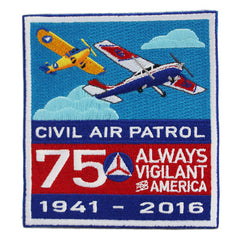 CAP- 75th Anniversary: Patch (square)
