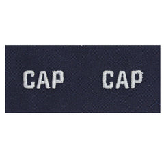 Civil Air Patrol Collar Insignia: CAP Embroidered (New Insignia)