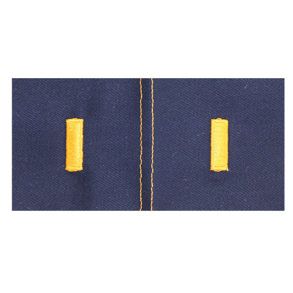 CAP Senior Grade Cloth Insignia: Second Lieutenant (New Insignia)