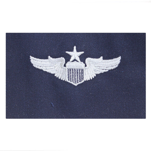 Civil Air Patrol:  Insignia - Air Force Senior Pilot on Cloth (New Insignia)