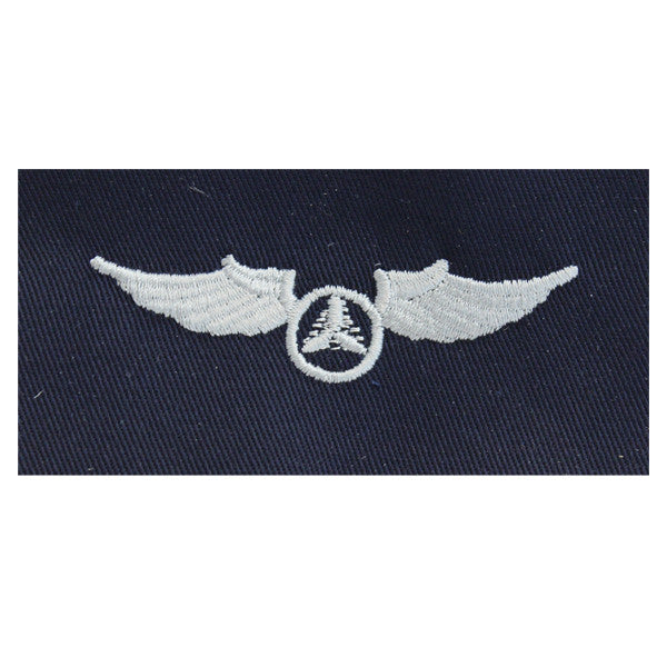 Civil Air Patrol Cloth Insignia: Pilot Wings (New Insignia)