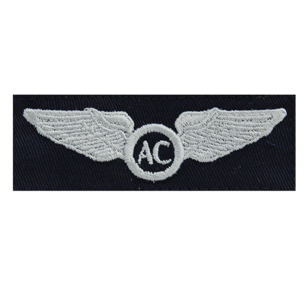 Civil Air Patrol Insignia: Basic Aircrew wings cloth (New Insignia)