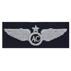 Civil Air Patrol Insignia: Senior Aircrew wings cloth (New Insignia)